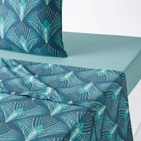 Pampelune Cotton Percale Flat Sheet
