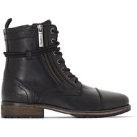 Melting Zipper New Ankle Boots