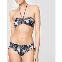 2-piece Palm Tree Print Swimsuit