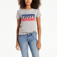 T-shirt bianco;grigio chiné donna T-shirt Sportswear logo THE PERFECT TEE