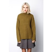 Chunky-Knit Crew Neck Jumper