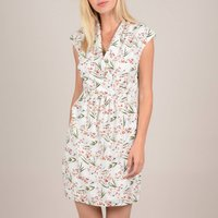 shop for Short Wrapover Dress in Floral Print at Shopo
