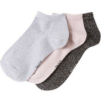 Pack of 3 Pairs of Glittery Trainer Socks
