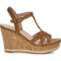 Melissa Suede Wedge Sandals