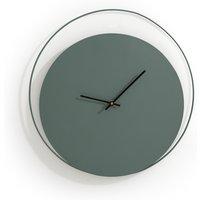 Pavo Metal Clock