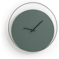 Pavo Metal Clock