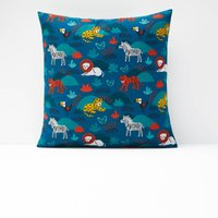 DIEGO Children € ™s Animal Print Cotton Pillowcase