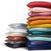Scenario Plain Polycotton Bolster Pillowcase
