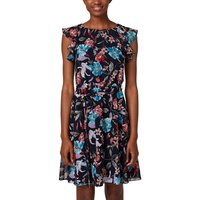 Sleeveless Printed Mini Shift Dress