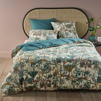 Saraya Floral Duvet Cover in Cotton Percale