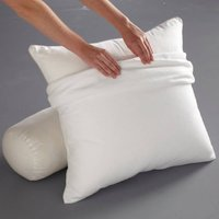 Stretch Flannelette Pillow and Bolster Protector