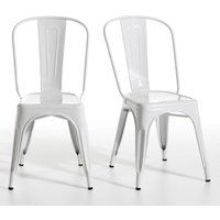 Tolix Set of 2 chairs.