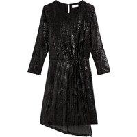shop for Long-Sleeved Sequin Dress at Shopo