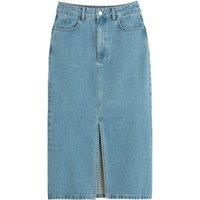shop for Denim Midi Skirt in Organic Cotton at Shopo