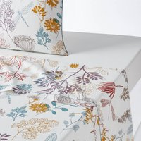 BOTANIQUE Cotton Percale Flat Sheet