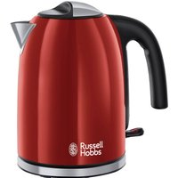 20412 Colours Plus Kettle - Red