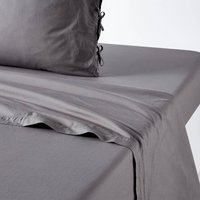 Toscane Percale Cotton Flat Sheet