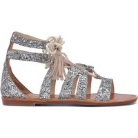 Arizona Lace Sequined Gladiator Sandals