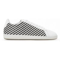 Sneackers Bianco/nero donna Baskets Courtset W Woven