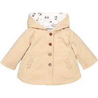 Mid-Season Hooded Trench Coat, 3 Months-3 Years