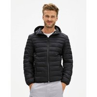 Fucolor Hooded Padded Jacket