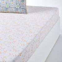 OJA Geometric Print Cotton Fitted Sheet