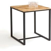 LA REDOUTE INTERIEURS Hiba 2-Person Bistro Table in Oak and Steel