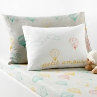 Amabella Baby's Printed Cotton Pillowcase
