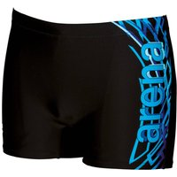 Boxer-Style Swim Shorts