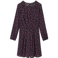 shop for Floral Print Mini Dress with Long Sleeves at Shopo