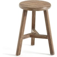 ASAYO solid elm stool