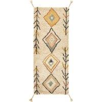 MIRJANA Berber-Style Wool Hall Runner
