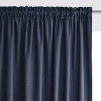 Scenario Single Cotton Curtain with Gathered Header