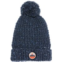 Clarrie Stitch Beanie with Bobble