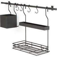 Leanis Kitchen Organiser Wall Shelf