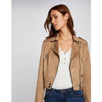 Suede Zipped Jacket