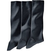 Pack of 3 Pairs of Cotton Lisle Socks
