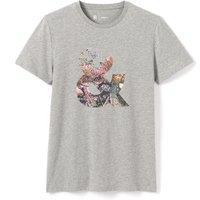 Printed Short-Sleeved Crew Neck T-Shirt