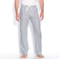 Pigiami rigato blu uomo Pantaloni da casa Cotone