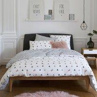 Digna Geometric Cotton Percale Duvet Cover