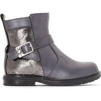 Kids Siro Ankle Boots with Buckle Detail