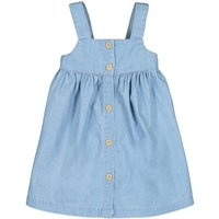 Denim Pinafore Dress, 1 Month-4 Years
