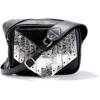 Handbag with Iridescent Fringing
