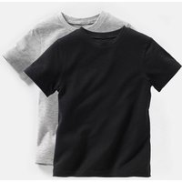 Pack of 2 Plain T-Shirts, 3-12 Years