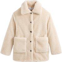 Teddy Faux Fur Buttoned Coat