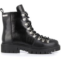 Zantis Leather Ankle Boots with Lace-Up Fastening