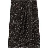 shop for Straight Polka Dot Mini Skirt at Shopo