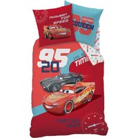 Cars Duvet Cover and Pillowcase Set.