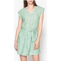 Agathe Cotton Checked Dress