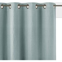 Onega Washed Linen Single Lined Blackout Curtain with Eyelets
